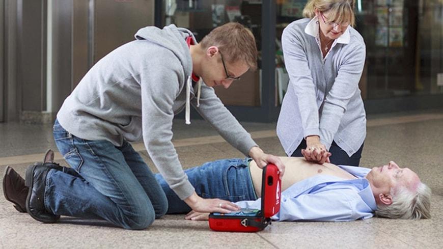 cara kerja defibrillator