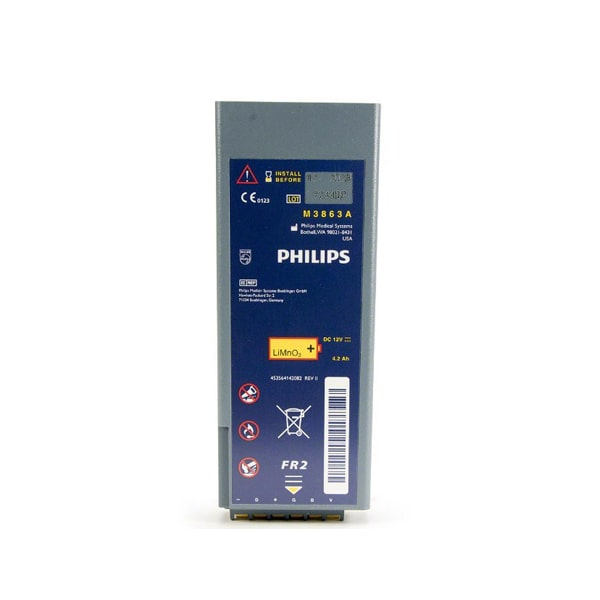 baterai aed philips fr2