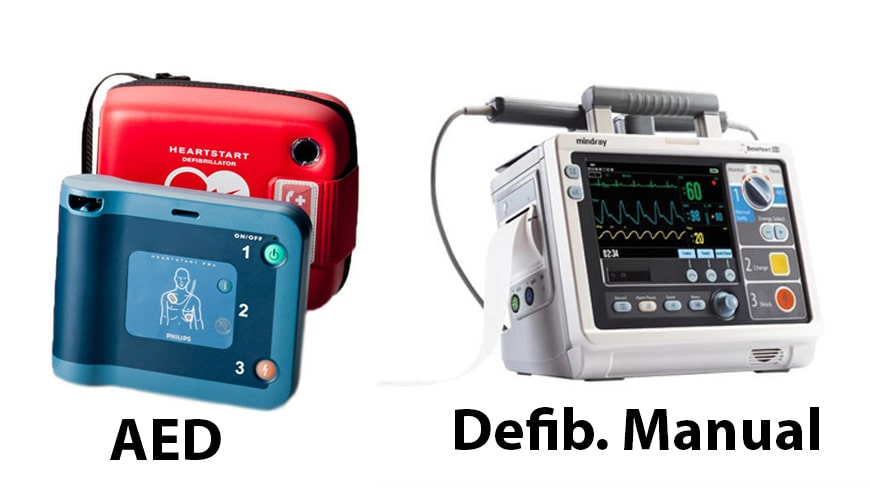 Inilah Bedanya Defibrillator Manual Dan AED